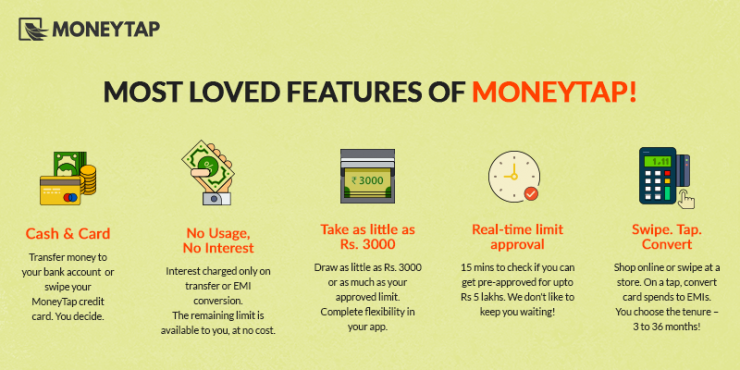 features of moneytap