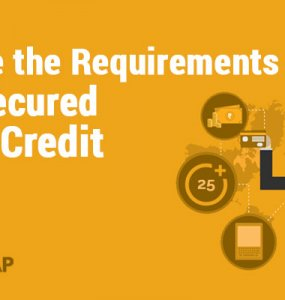 requirements for unsecured line of credit