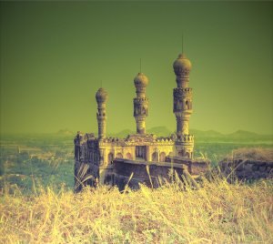teen minar elgandal fort